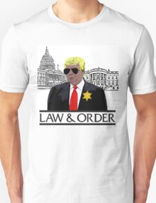 Trump Law & Order Unisex T-Shirt