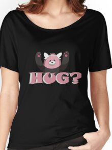 Hug for Bewear? Women's Relaxed Fit T-Shirt