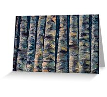 Aspen Forest In The Rocky Mountains Greeting Card