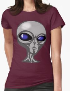 Elvis The Alien Womens Fitted T-Shirt
