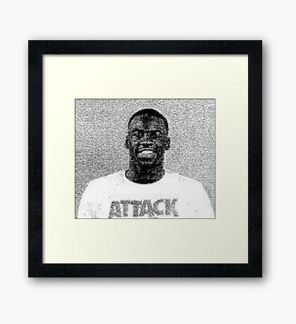 Draymond Green Mugshot Framed Print