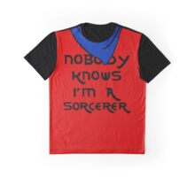 Nobody knows I'm a sorcerer - 2 Graphic T-Shirt