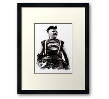 Goonies Sloth Framed Print