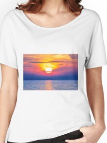 Striking Skies Women's Relaxed Fit T-Shirt