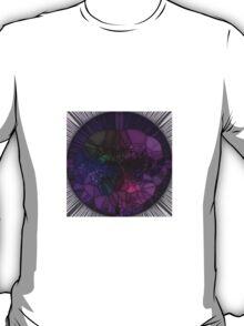 Purple Mosaic Circle T-Shirt