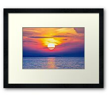 Striking Skies Framed Print