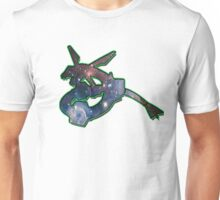 Rayquaza Space Design T-shirt and other products Unisex T-Shirt