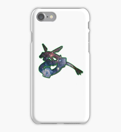 Rayquaza Space Design T-shirt and other products iPhone Case/Skin