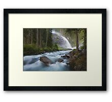 Krimml Twilight Framed Print
