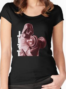 Lets Lift Women's Fitted Scoop T-Shirt