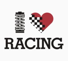 I Love RACING (1) by PlanDesigner