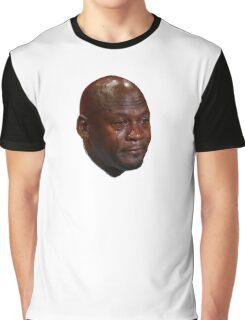 Michael Jordan crying Graphic T-Shirt