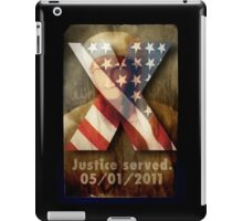 Justice Served. iPad Case/Skin