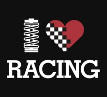 I Love RACING (2) by PlanDesigner