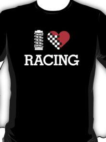 I Love RACING (2) T-Shirt