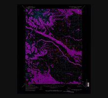 USGS TOPO Map Alaska AK Taylor Mountains A-5 359841 1954 63360 Inverted Unisex T-Shirt