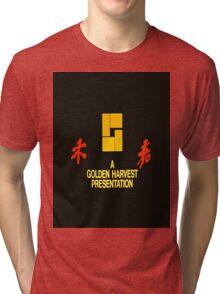 GOLDEN HARVEST STICKER Tri-blend T-Shirt