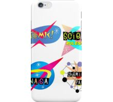 Space Age Signs iPhone Case/Skin