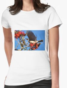 Noisy Friabird, Urunga NSW Womens Fitted T-Shirt