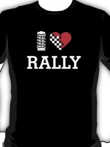 I Love RALLY (2) T-Shirt