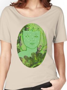 Green Sea Girl Women's Relaxed Fit T-Shirt