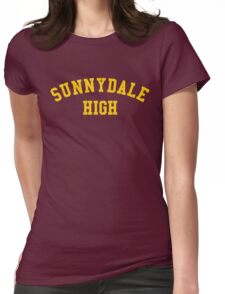 sunnydale high school sweatshirt Womens Fitted T-Shirt