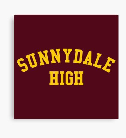 sunnydale high school sweatshirt Canvas Print