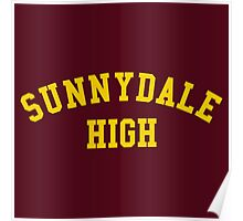sunnydale high school sweatshirt Poster