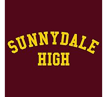 sunnydale high school sweatshirt Photographic Print