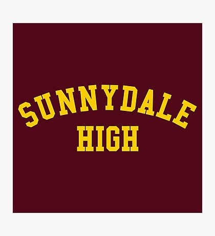 sunnydale high school sweatshirt Photographic Print