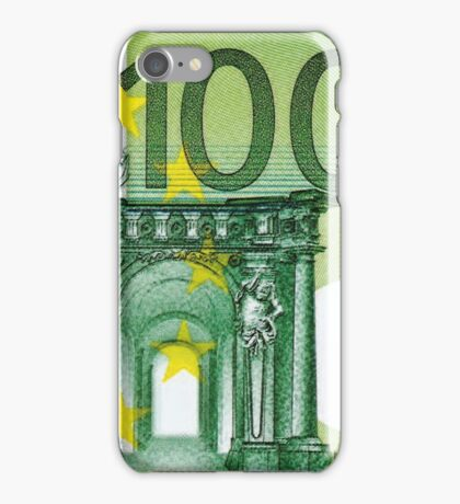 One Hundred Euro Bill iPhone Case/Skin