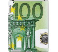 One Hundred Euro Bill iPad Case/Skin