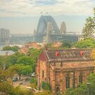 Sydney Harbour Bridge from Observatory Hill by Michael Matthews