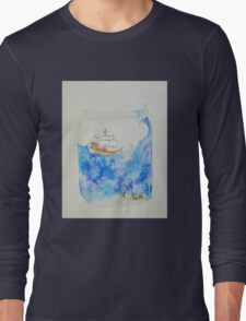 Ship in a jar Long Sleeve T-Shirt