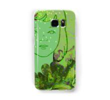 Green Sea Girl Samsung Galaxy Case/Skin