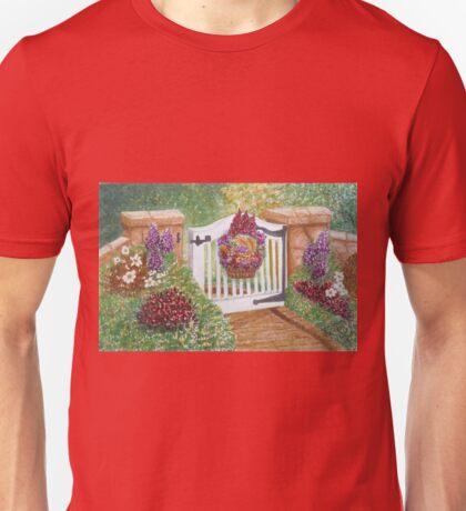 """WELCOME TO MY GARDEN"" Unisex T-Shirt"