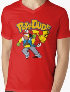 poke dude Mens V-Neck T-Shirt