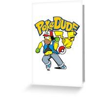 poke dude Greeting Card
