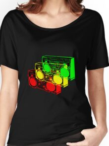 Ghetto Blasta Design Women's Relaxed Fit T-Shirt
