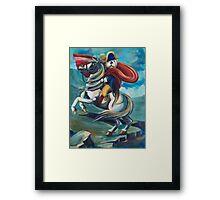 Napoleon Otterparte Framed Print