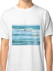 Enjoying the surf in summer Classic T-Shirt