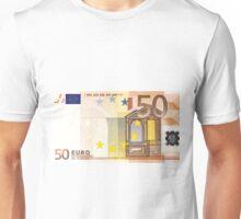 Fifty Euro Bill Unisex T-Shirt