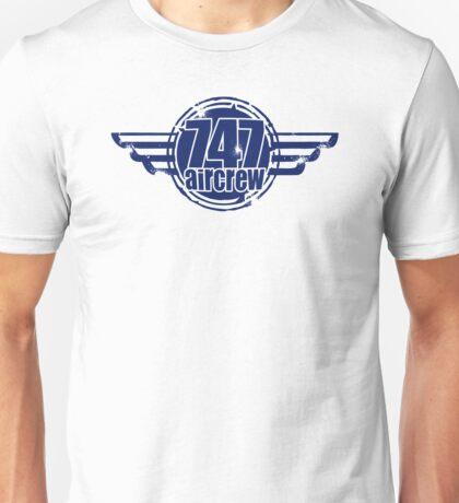 747 Aircrew Unisex T-Shirt