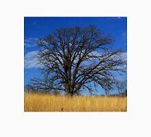 Prairie, savanna oak - blue sky and golden grass Unisex T-Shirt