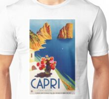 Vintage Capri Travel Unisex T-Shirt