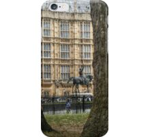 Richard I, Coeur de Lion in the Old Palace Yard iPhone Case/Skin