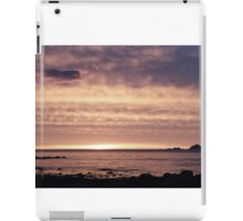 Arctic july night iPad Case/Skin