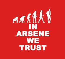 EVOLUTION IN ARSENE WENGER Unisex T-Shirt