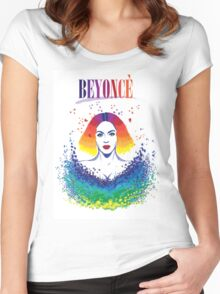 beyonce Women's Fitted Scoop T-Shirt