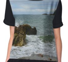 The Rock and The Ocean Chiffon Top